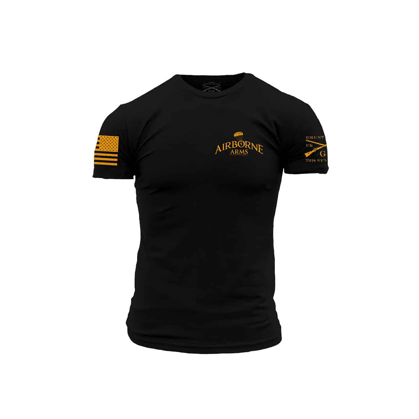 78d68df1 Airborne Arms Grunt Style T-Shirts - Airborne Arms LLC